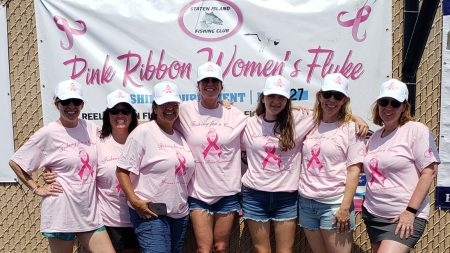 Pink Ribbon Women's Fluke Fishing Tournament